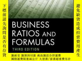 二手書博民逛書店Business罕見Ratios and Formulas: A Comprehensive Guide, 3rd