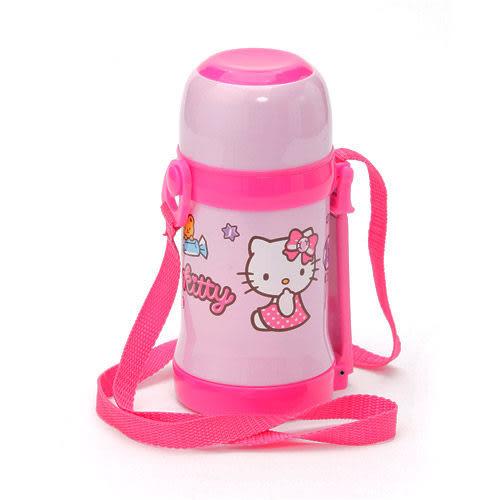 【震撼精品百貨】Hello Kitty 凱蒂貓~HELLO KITTY隱形背帶保溫保冷水壺