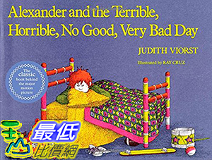 [106美國直購] 2017美國暢銷兒童書 Alexander and the Terrible, Horrible, No Good, Very Bad Day