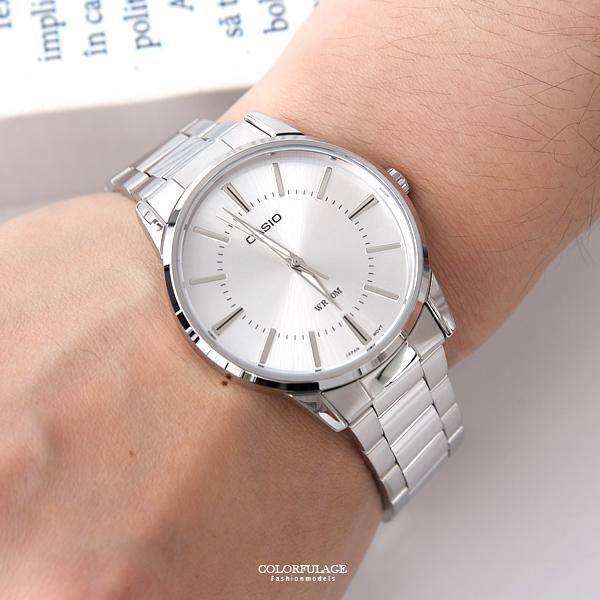 CASIO卡西歐經典簡約指針石英錶【NEC89】