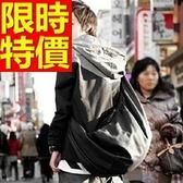 尼龍側背包-有型可肩背多用途萬用男女郵差包1色57b25【巴黎精品】