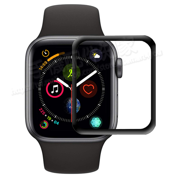 【3D曲面複合保護貼 】Apple Watch Series 3/2 42mm/38mm PMMA+PC 複合材料螢幕保護貼/高透纖維強化保護膜-ZW