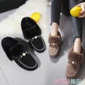 豆豆鞋女鞋爆款秋冬季豆豆奶奶鞋雪地靴加絨保暖孕婦鞋平底百搭交換禮物