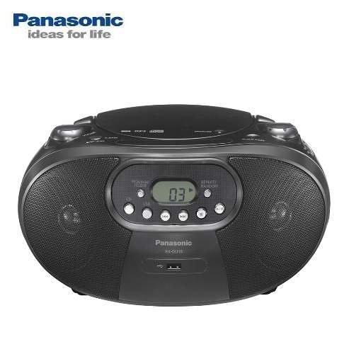 福利品出清【Panasonic國際牌】MP3/USB手提音響 RX-DU10 黑色款