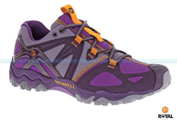 MERRELL 新竹皇家 GRASSBOW SPORT GORE-TEX 紫灰 水陸兩棲 涼鞋 女款 NO.I4453