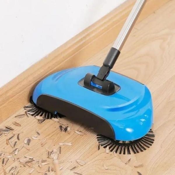 手推掃地機 掃拖吸三合一多功能手推掃地機懶人免洗拖把【快速出貨好康八折】