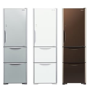 【HITACHI 日立】331公升變頻三門電冰箱 RG36A琉璃白