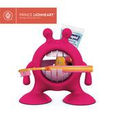 美國 Prince Lionheart 美獅寶 大嘴怪牙刷牙膏整理架/牙刷架 炫彩虹