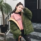 ◆此款有鋪棉內裡 ◆尺寸:M、L(寬鬆款) ◆顏色:黑色、軍綠色