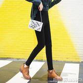 中大尺碼 打底褲女薄款高腰彈力顯瘦春秋小腳鉛筆褲韓版修身魔術褲 瑪麗蘇