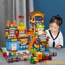 樂高積木拼裝玩具大顆粒女孩男孩益智力動腦兒童城堡系列生日禮物【小獅子】