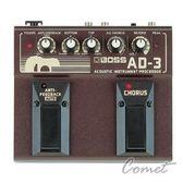 【木吉他效果器】【BOSS AD-5】 【殘響/和聲/木吉他模擬/AD3/雙踏板】【Acoustic Instrument Processor】