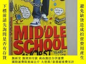 二手書博民逛書店MIDDLE罕見SCHOOL,THE WORST YEARS O