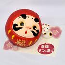 幸福來 不倒翁 存錢箱 吉祥物 日本帶回