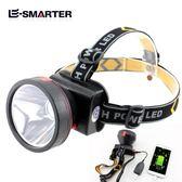 戶外強光充電LED頭燈夜釣魚頭燈防水垂釣燈超亮礦燈頭戴式手電筒「摩登大道」