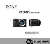 SONY ILCE-6600 大光圈旅遊組 A6600 (含16-55mm F2.8 G鏡頭)【台灣公司貨】