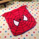 【發現。好貨】蜘蛛人刺繡束口袋 Spiderman 蜘蛛俠 相機包 零錢包 收納袋 手機袋