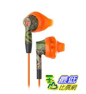 [美國直購] Yurbuds (CE) Inspire 200 Noise Isolating In-Ear Headphones, Mossy Oak Orange 耳機