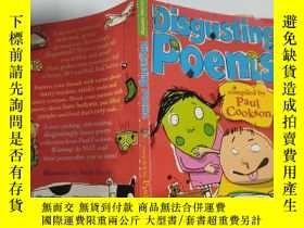 二手書博民逛書店disgusting罕見poems 惡心的詩Y200392