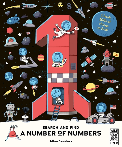 Search And Find A Number Of Numbers 英文數字學習書