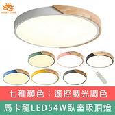 【Honey Comb】LED54W遙控吸頂燈(V-V1717C54)綠色