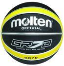佐儀 Molten 籃球 (黑/黃) 7號橡膠深溝12片貼籃球 未充氣 BGR7D-KY【 胖媛的店 】