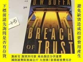 二手書博民逛書店英文原版:Breach罕見of TrustY182979 DW