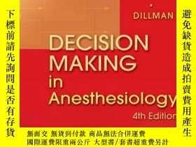 二手書博民逛書店Decision罕見Making In AnesthesiologyY364682 Bready, Lois