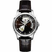 Hamilton 漢米爾頓 JAZZMASTER 鏤空機械腕錶 H32565595