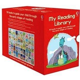 【麥克書店】{ 兒童中階彩色讀本} MY READING LIBRARY #整套50本附精美外盒. 限量特價