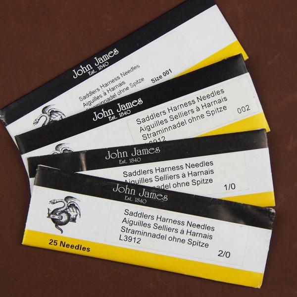 2入---英國 John James手縫針001-002-003-004-1/0-2/0-3/0 愛馬仕專用針