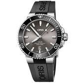 Oris豪利時 Aquis 時間之海潛水300米日期機械錶-43.5mm 0173377307153-0742464TEB