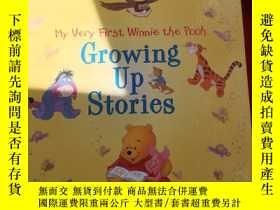 二手書博民逛書店GROWING罕見UP STORIES 成長的故事Y179070