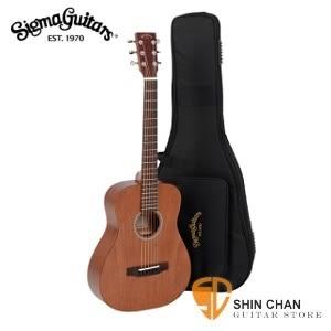 【旅行的意義】(TM15 全桃花心木/面單板)Sigma吉他  ►TM-15 小吉他/旅行吉他 34吋 附Sigma吉他袋