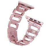 春季上新 蘋果apple watch金屬錶帶iwatch2/3男女不銹鋼錶帶蘋果手錶鍊鋼帶