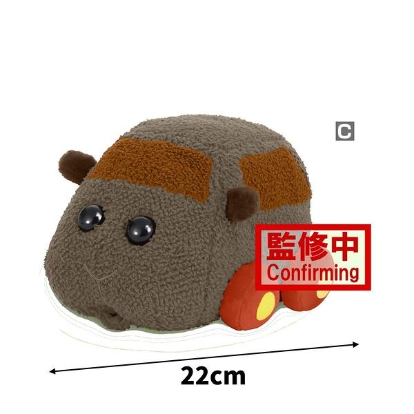 10月預收 玩具e哥 景品 天竺鼠車車 暖心療癒絨毛布偶 C款 泰迪 代理18018