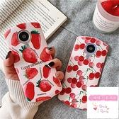 【兩個裝】粉色草莓美圖手機殼個性創意水果t8t9軟硅膠保護套【小檸檬3C數碼館】