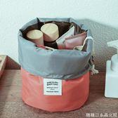 便攜化妝包大容量多功能收納袋韓國簡約小號旅行隨身防水洗漱包