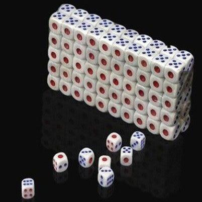 [100顆裝]塑膠骰子 / 吹牛比大小點數夜店酒吧KTV娛樂 ◎花町愛漂亮◎ MY