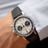 Hamilton 漢米爾頓 Intra-Matic Autochrono 熊貓復刻計時機械錶-40mm H38416711