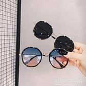 網紅款ins街拍墨鏡韓版潮新款復古圓多邊形鏡女小框眼睛 設計師生活百貨