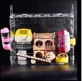 倉鼠籠 窩子亞克力透明寵物大號別墅單雙層倉鼠籠玩具用品套餐 俏女孩