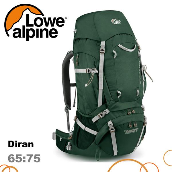 【 LOWE ALPINE 英國 Diran 65:75 登山背包《鱷魚綠》65-75L】FMP-93/雙肩背包/後背包/健行/旅行