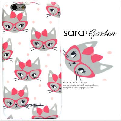 3D 客製 手繪 插畫 眼鏡 貓咪 iPhone 6 6S Plus 5S SE S6 S7 10 M9 M9+ A9 626 zenfone2 C5 Z5 Z5P M5 X XA G5 G4 J7 手機殼