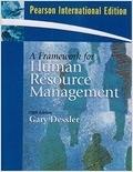 二手書博民逛書店《Framework for Human Resource Ma