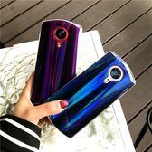 美圖手機殼 日韓潮牌美圖T8手機殼硅膠軟套紫色M6s炫彩藍光鐳射M8男女款創意 米蘭街頭