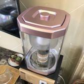 凈水桶家用 過濾桶 飲水機凈水器水龍頭自來水過濾一體桶可直飲igo「時尚彩虹屋」