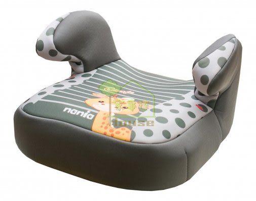 [ 家事達 ] 法國 納尼亞NANIA- 汽車安全座椅-輔助墊 -長頸鹿綠 特價