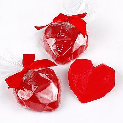 幸福婚禮小物❤紅咚咚心怦怦愛心手工香皂❤二次進場/活動小禮物/送客禮/療癒小物/手工香皂