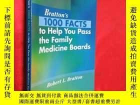 二手書博民逛書店Bratton s罕見1000 Facts to Help Yo